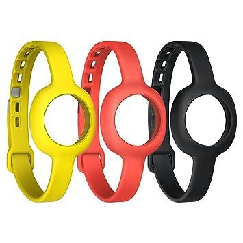 Jawbone JL06A-3SS1-EU - Correas para relojes, colores negro, rojo, amarillo: Amazon.es: Electrónica