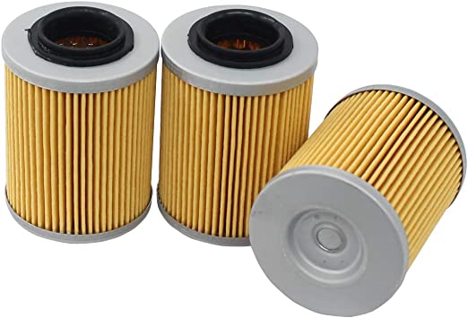 2 Pack Oil Filter Bombardier For Can-Am Outlander// Renegade 400 500 650 800