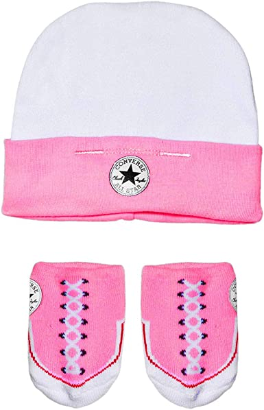 Converse Baby Girls 0-24m Hat and