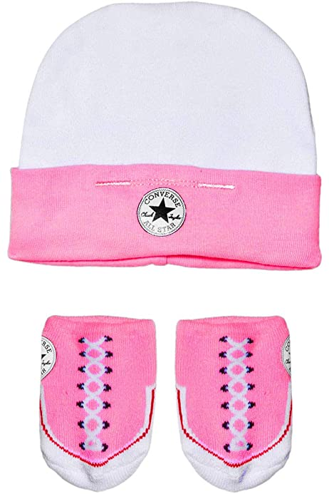 Converse Baby Hat \u0026 Booties Socks