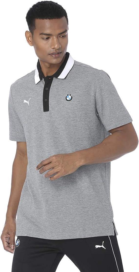 Puma BMW MMS Polo Medium Gray Heather: Amazon.es: Ropa y accesorios