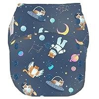 GroVia Reusable Hybrid Baby Cloth Diaper Snap Shell, One Size
