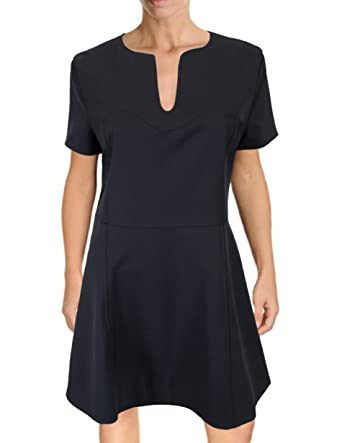 Amazon French Connection Cap Sleeve A Line Skirt Panel Dress