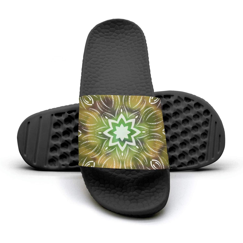JIKIE Women Colo Mandalas Oriental Ornament Loafer Customize Wear-Resistant Shoes