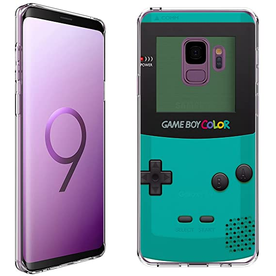 new arrival 51436 78fe5 Samsung Galaxy S9 Case [GameBoy Mint](Clear) PaletteShield Flexible Slim  TPU skin phone cover (DOES NOT fit S9 Plus)