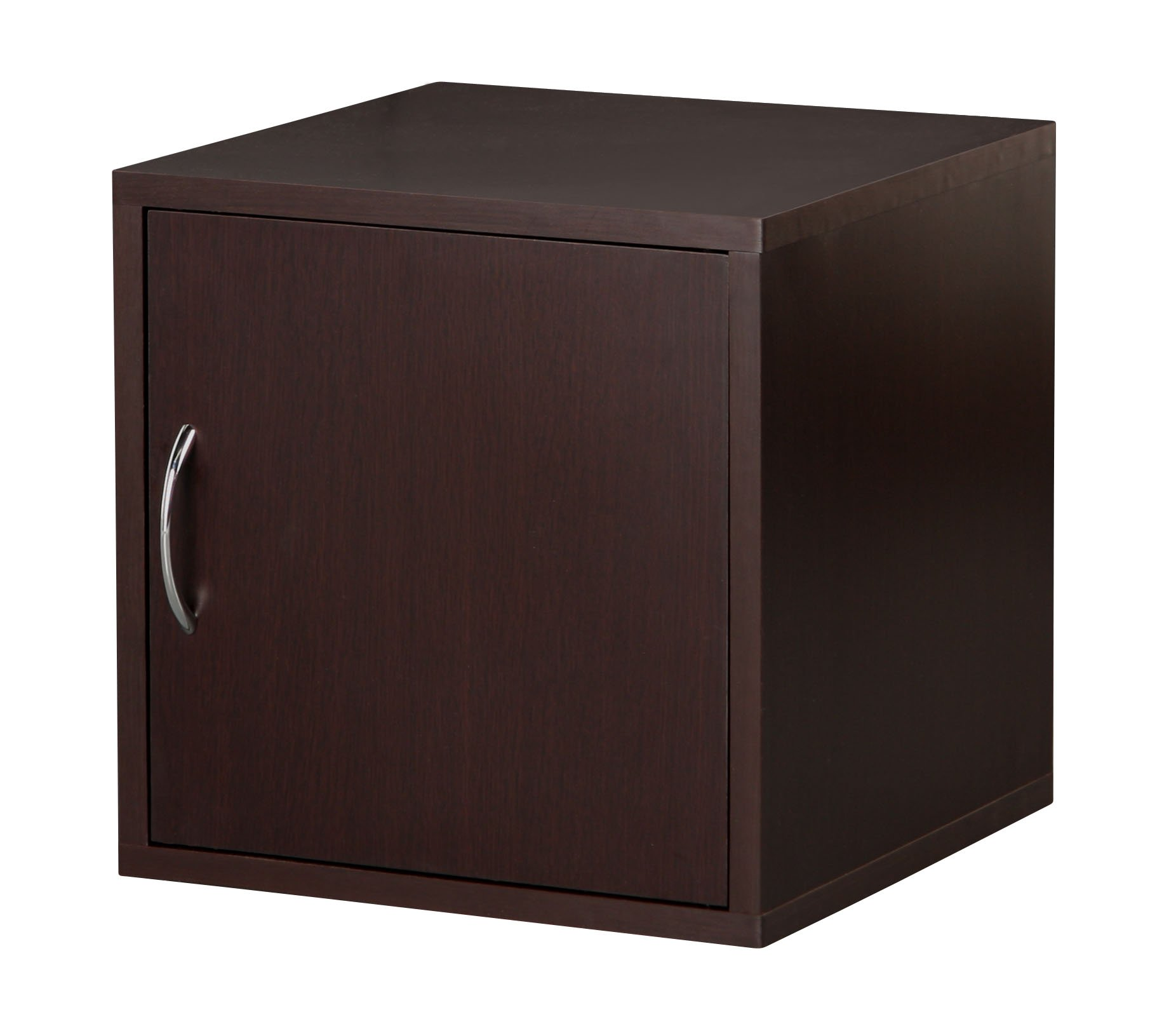 Foremost 327509 Modular Door Cube Storage System, Espresso