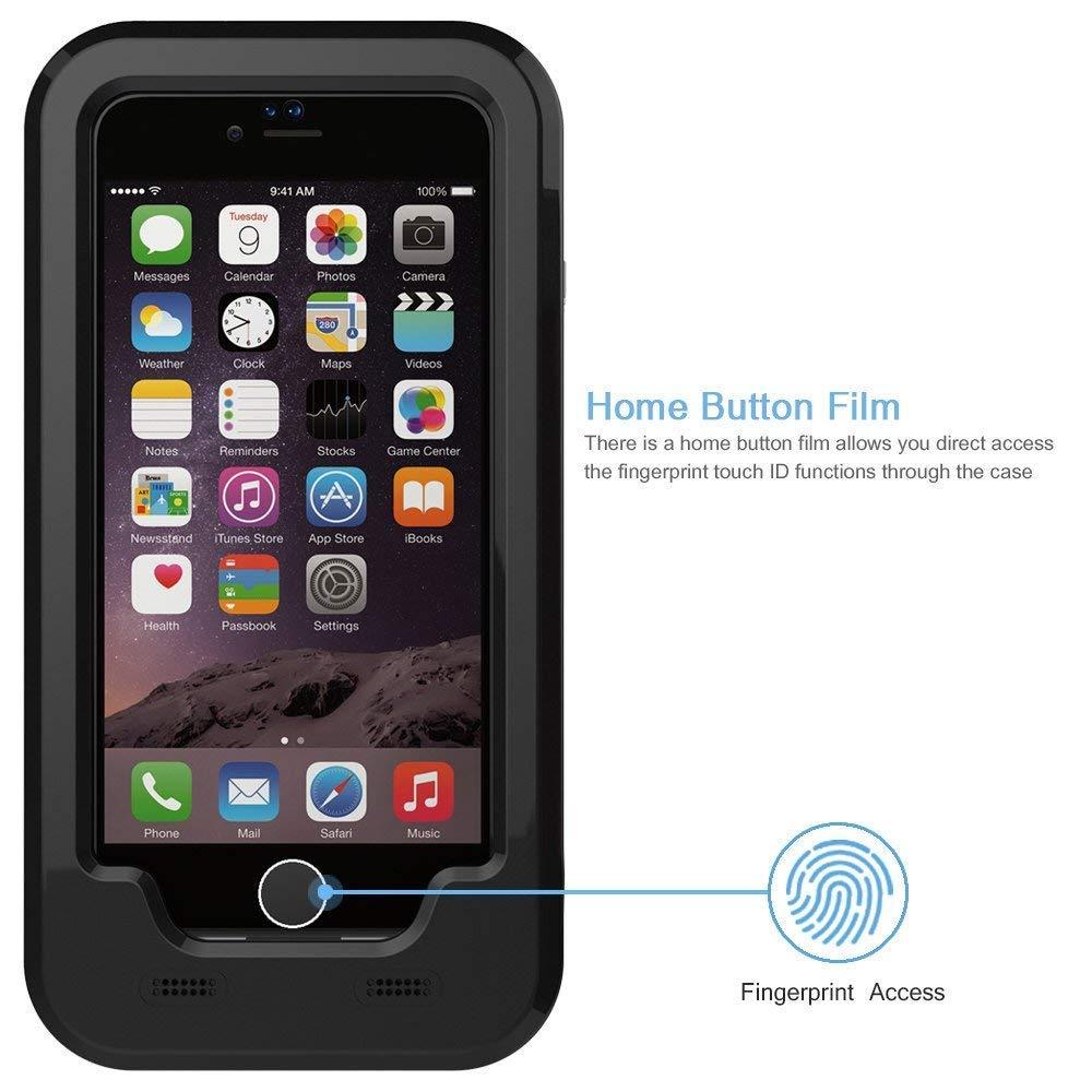 c6b059abccb iPhone 6/6S Plus Bicicleta Soporte, JEMACHE Bicicleta/Soporte de Manillar de  Bicicleta Y Moto Soporte Impermeable para iPhone 6/6S Plus (5,5