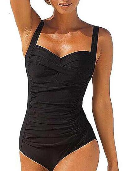 più recente 4bad6 a3fee Blooming Increspato Plus Size Costume Intero Costume da Bagno delle Donne  Gelatina Monokini