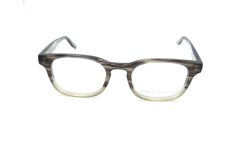 458de4d8ee Amazon.com  Barton Perreira Neville Eyeglasses Frames 48-21-143 Stonehenge  Men  Clothing