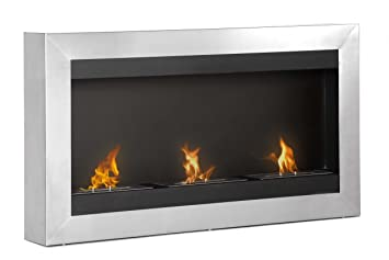 Amazon.com: Ignis Magnum Wall Mount Ethanol Fireplace: Home ...