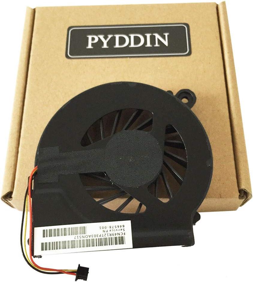PYDDIN Laptop CPU Cooling Fan Cooler for HP Pavilion G7-1000 G6-1000 G4-1000 Compaq CQ42 CQ62 CQ56 CQ56z G62 G42 Presario CQ62z G62t G62m G62x G42t 646578-001 (3 pins)