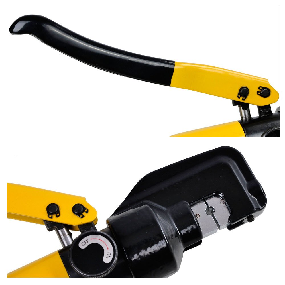8 Ton Hydraulic Wire Crimper Crimping Tool with 9 Dies Battery Cable ...