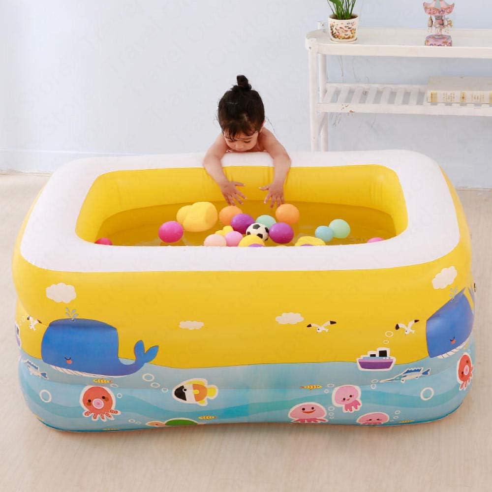 xyywqybg Familie Kinder 130 85 55CM Aufblasbarer Pool