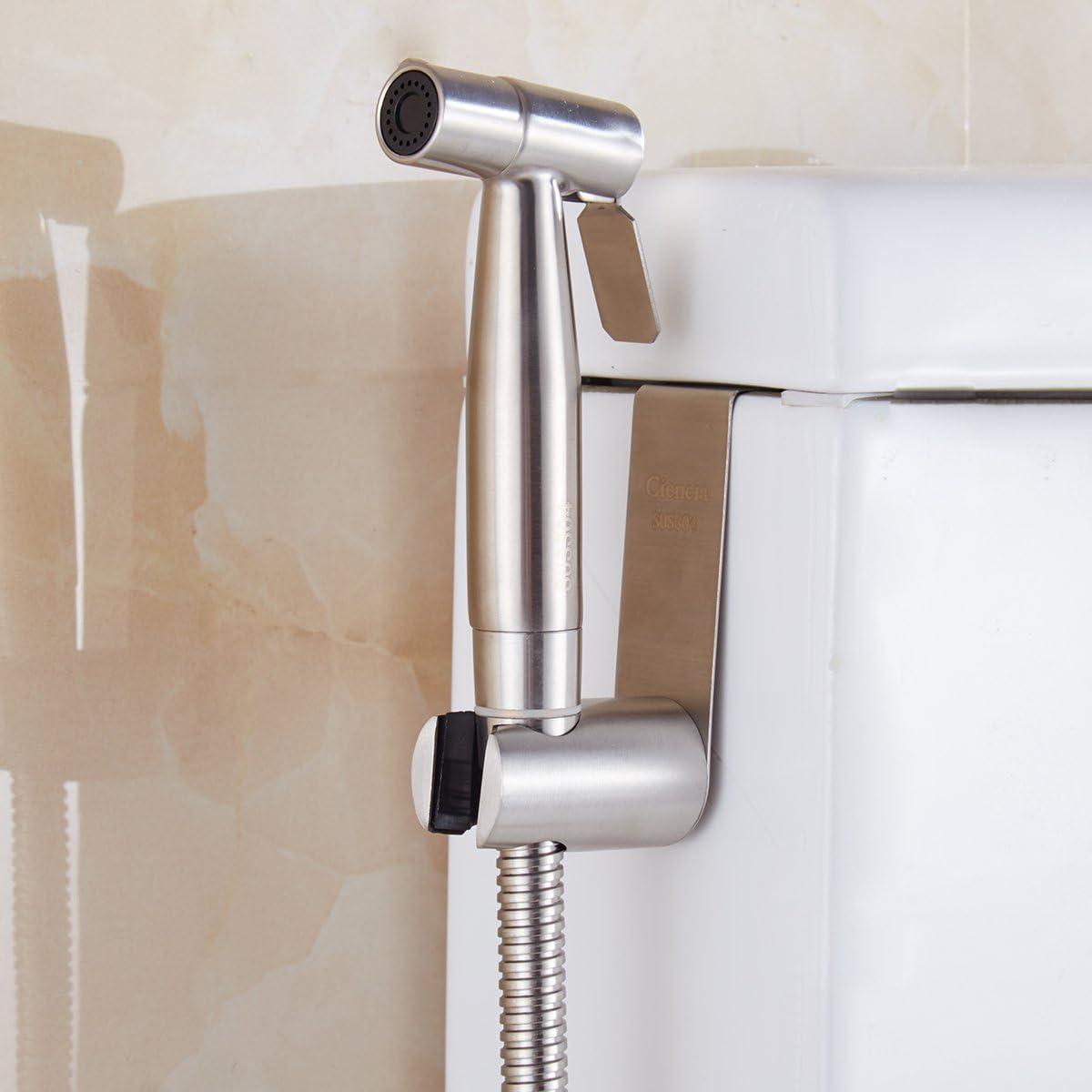 CIENCIA Alcachofa de ducha port/átil de acero inoxidable con pulverizador de mano
