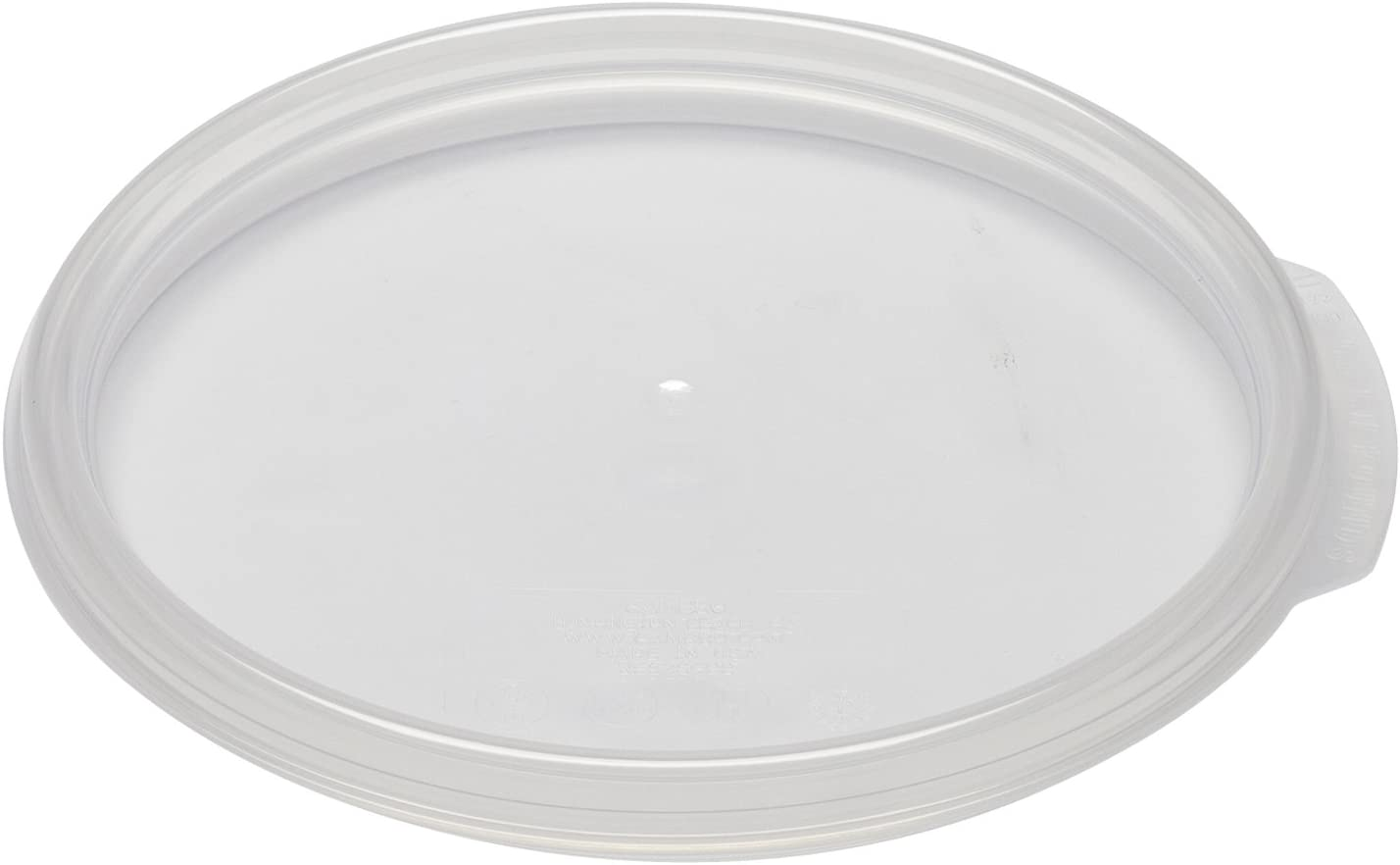 Cambro RFSC1PP190 Round Storage Container Lids, 1 Qt., 6 Pack