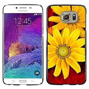 Print Motif Coque de protection Case Cover // V00001778 flores del otoño // Samsung Galaxy S6 (Not Fits S6 EDGE)