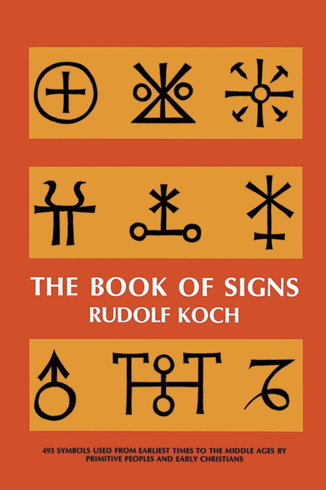The Book Of Signs Dover Pictorial Archive Rudolf Koch