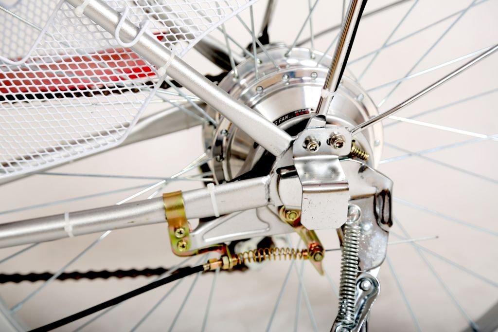 Pedelec - Bicicleta eléctrica, 250 vatios / 36 voltios - Bicileta con motor de 26 pulgadas, color negro, tamaño 26 pulgadas, tamaño de rueda 26.00: ...