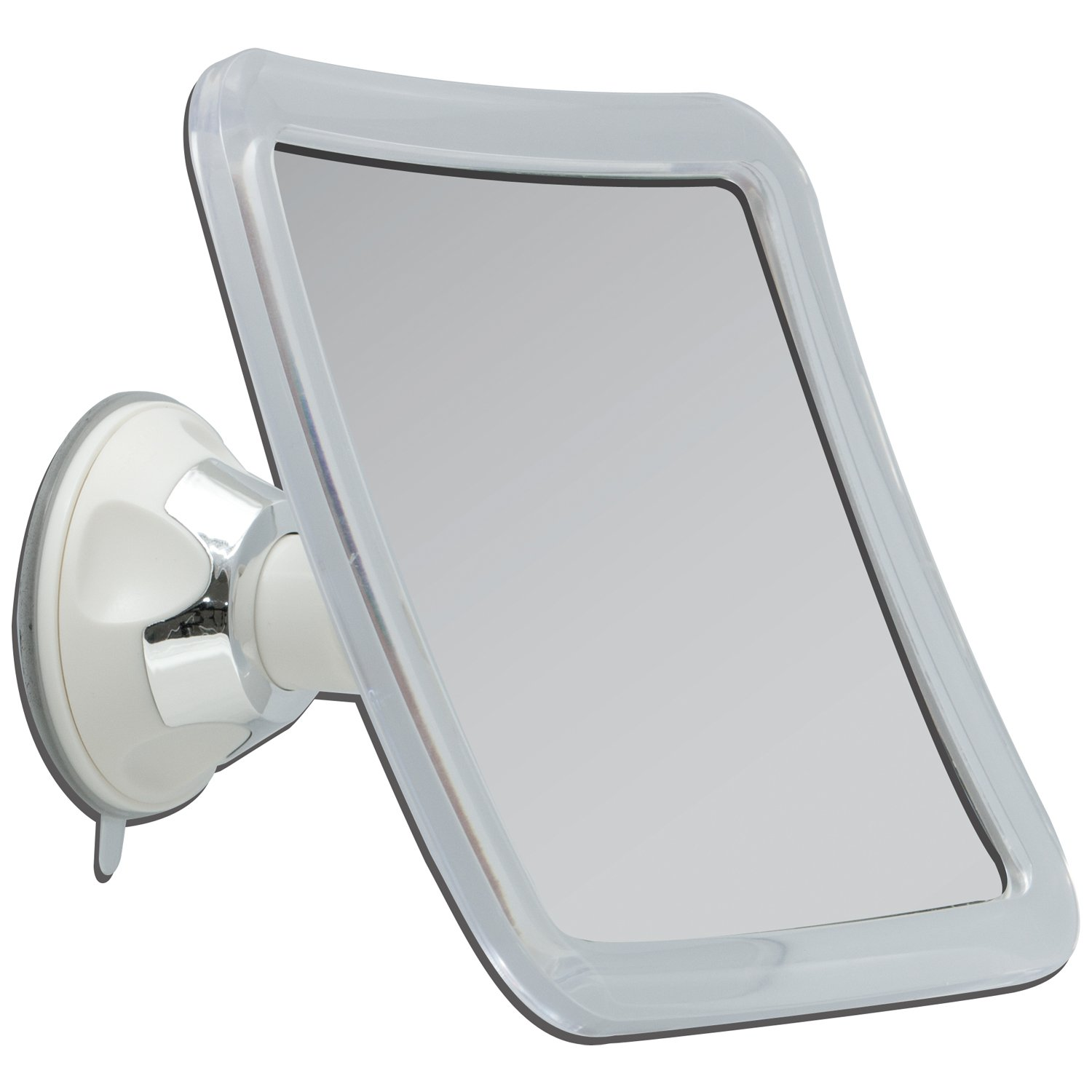 Amazon zadro zswivel power suction cup mirror white amazon zadro zswivel power suction cup mirror white chrome personal makeup mirrors beauty amipublicfo Gallery