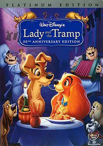 Lady and The Tramp (DVD 2006) 50th Anniversary Platinum Edition. YammaMarket