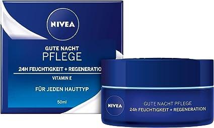 Nivea - Crema facial de noche regeneradora, pack de 2 (2x50ml): Amazon.es: Belleza