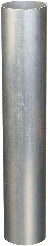 HPS (AST-225) 2.25' OD x 1' Long 16-Gauge 6061-T6 Aluminum Straight Tubing