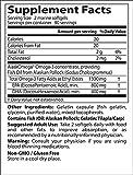 Doctor's Best Pure Wild Alaskan Fish Oil with AlaskOmega, Non-GMO, Gluten Free, 180 Marine Softgels - 61hUf 0jI5L - Doctor's Best Pure Wild Alaskan Fish Oil with AlaskOmega, Non-GMO, Gluten Free, 180 Marine Softgels