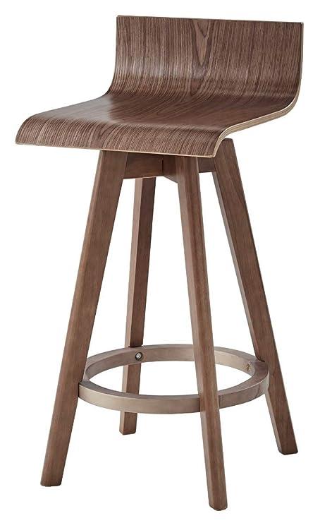 Magnificent Amazon Com Ellery Trendy Mid Century Modern Wooden Curved Machost Co Dining Chair Design Ideas Machostcouk