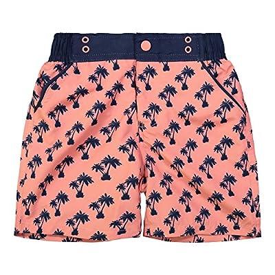 Andy & Evan Boys' Fish Print Swimsuit-Toddler