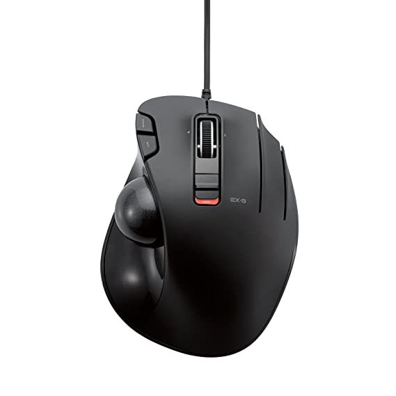 ELECOM - Ratón trackball con cable, 6 botones, color negro (M-XT3URBK): Amazon.es: Electrónica
