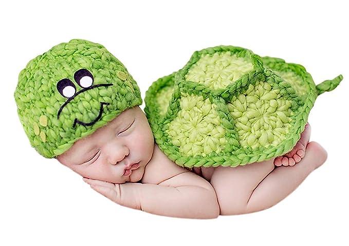 efbce4287 Amazon.com: ACE SHOCK Newborn Unisex-Baby Turtle Costume, Infant ...