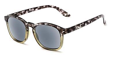 Readers.com Reading Sunglasses: The Avenue Reading Sunglasses Plastic Retro Square Style