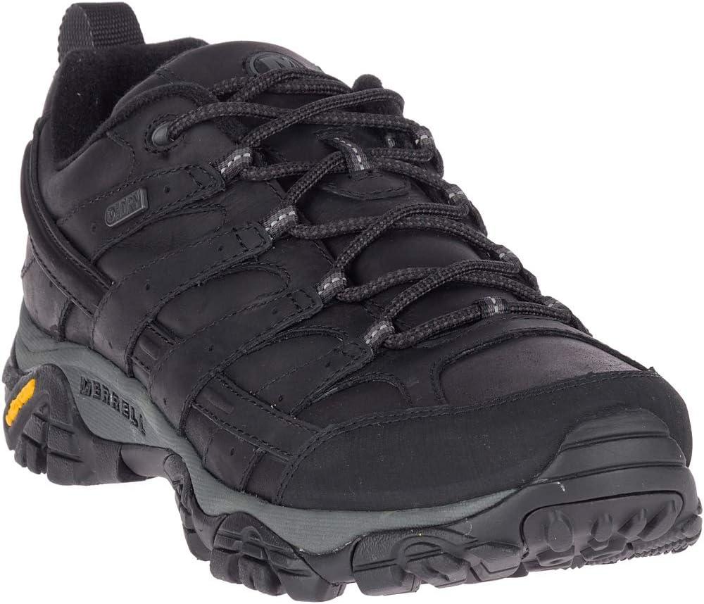 Merrell Moab 2 Prime Waterproof Hiking Shoes - Men's Black