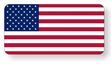 Amazoncom Pcs Paradisiac Popular American Flag Vinyl Stickers - Custom vinyl stickers 1 x 2
