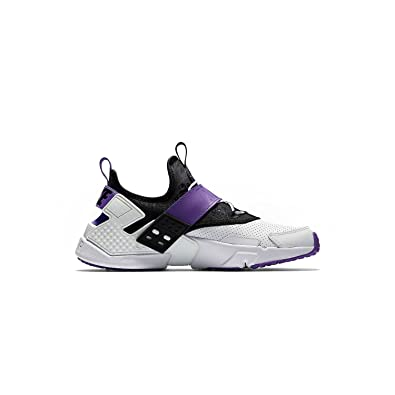 super popular 7011f c7366 Nike Men s Air Huarache Drift PRM White Purple Black AH7335-101 (SIZE