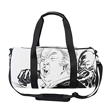 c8f898ac16e Amazon.com   Trump Travel Duffle Bag for Men   Women - Foldable Duffel Bags  with Shoes   Laundry Pouch for Carry On   Gym   Sports Duffels
