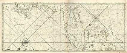 West Florida Coast Map.Amazon Com Vintage 1775 Map Of The Coast Of West Florida And