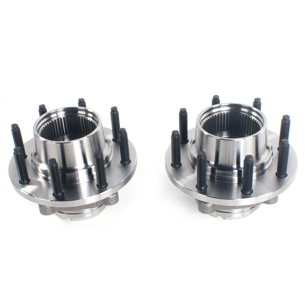 Set of 2 Front Wheel Hub & Bearing Left or Right Pair Set for 99-01 Ford F-250 F-350 Super Duty, 8 Lug 4WD 4x4 by Autoforever (Image #4)