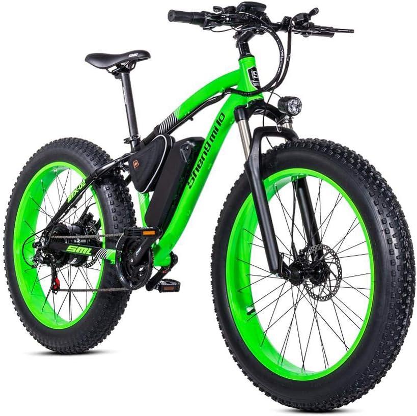 SHIJING Nueva asistida Bicicleta eléctrica Bicicleta de montaña 48V500W ciclomotor Bicicleta eléctrica ebike Bicicleta eléctrica de Litio Bicicleta eléctrica Elec