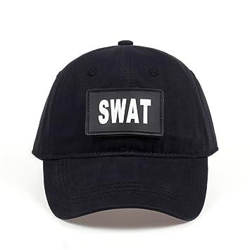 SLGJ Special Force SWAT Tactical Caps Hombre Gorra De Béisbol Camo Camuflaje Sombreros Snapback Gorras Planas Sombrero Tapa, Negro: Amazon.es: Deportes y ...