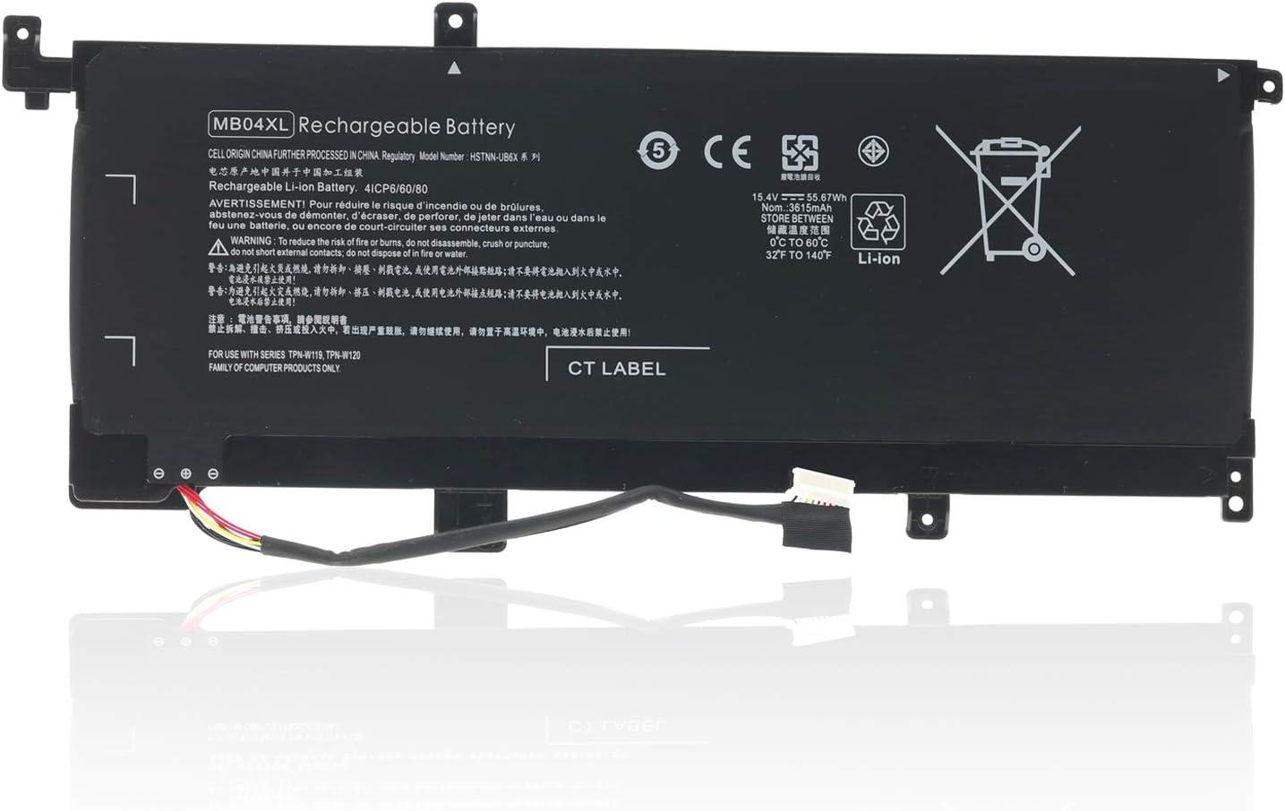 MB04XL 844204-850 Battery for HP Envy X360 M6-AQ105DX M6-AQ003DX M6-AQ005DX M6-AR004DX AQ103DX Convertible PC 15 15-AQ005NA 15-AQ101NG AQ015NR 15-AQ000 Series 843538-541 844204-850