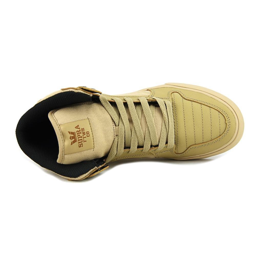 Supra Vaider LC Sneaker B06XXR6LBD 12 M US Women / 10.5 M US Men|Khaki/Gum