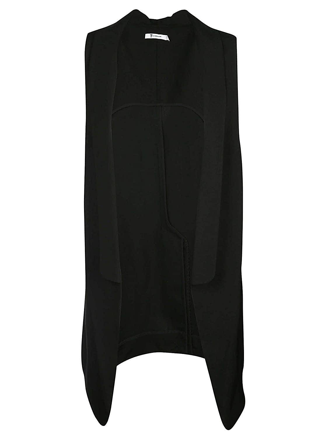 Brand Size XS ALEXANDER WANG Women's 4W282001Y7001 Black Other Materials Vest