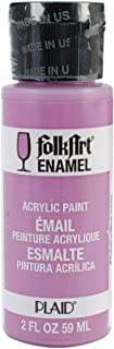 product image for FolkArt Enamel Glass & Ceramic Paint in Assorted Colors (2 oz), 4004, Butler Magenta