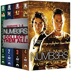 Numb3rs: Seasons 1-4