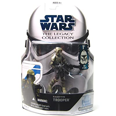 Star Wars The Legacy Collection Kashyyyk Trooper Build-A-Droid 3-3/4 Inch Scale Action Figure GH No. 2: Toys & Games