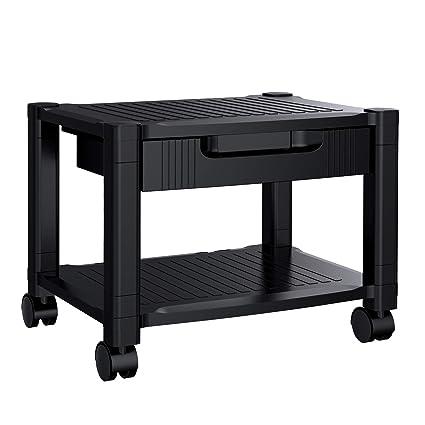 Soporte para impresoras de escritorio, con organizador de espacio ...