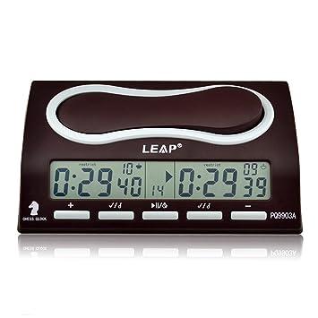 LEAP Ckeyin ® Reloj Digital para Jgar al Ajedrez | Despertador para Nños |Cronómetro del Cronómetro - Temporizador Digital: Amazon.es: Juguetes y juegos
