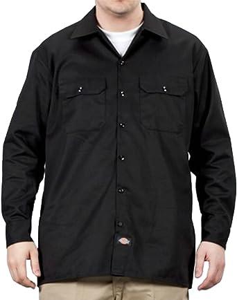 Dickies - Camisa de trabajo con manga larga - Negro hombre ropa de trabajo DICKIES574BK-XXL: Amazon.es: Ropa y accesorios