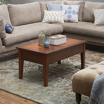 Coffee Tables Rustic (Oak) Lift Top Rectangle Wood Cocktail Living Room End  Table Small